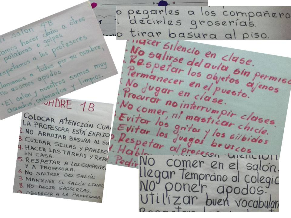 ENCUADRE PARA EL AULA DE CLASE | I.E. GENERAL SANTANDER